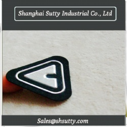 Custom TPU Heat Transfer Label 3D Embossed Printing Silicon Heat Transfer Label for Clothing