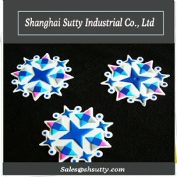 3D Flocking Pressing Silicone Label Heat Transfer Fabric Embossing Black TPU Label