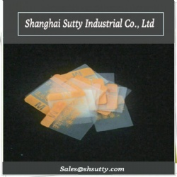 TPU PVC Printed Clothing Label with Costomized Shape Color Size